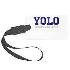 YOLO Luggage Tag