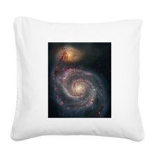 m51.png Square Canvas Pillow