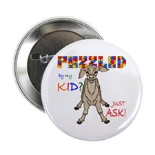 "Puzzled? Just Ask! 2.25"" Button (10 pack)"