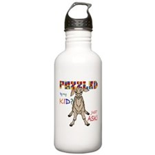 Puzzled? Just Ask! Water Bottle