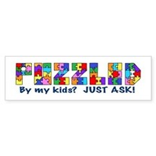 Puzzled by my kids? Bumper Bumper Sticker