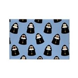 nuns-cute_9x12.png Rectangle Magnet