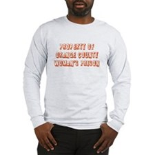 Property of Woman's Prison Long Sleeve T-Shirt