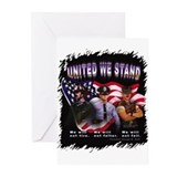 United We Stand Image Greeting Cards (Pk of 10