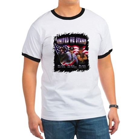 United We Stand Image Ringer T