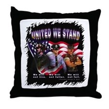 United We Stand Image Throw Pillow