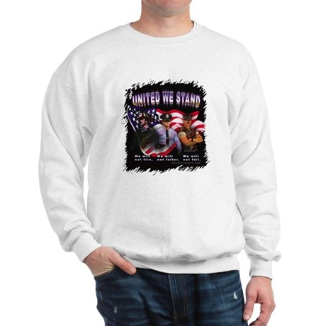 United We Stand Image Sweatshirt