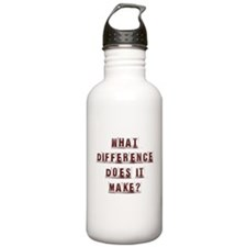 What Difference Does it Make? Water Bottle
