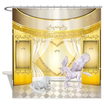 Pegasus and Unicorn Shower Curtain