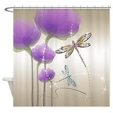 purple shower curtains purple fabric shower curtain liner