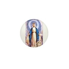 Miraculous Medal of Mary Mini Button (10 pack)