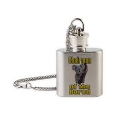 Chairman of the Bored Flask Necklace