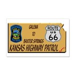 Kansas Highway Patrol Route 66 Wall Decal