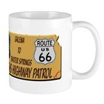 Kansas Highway Patrol Route 66 Mug