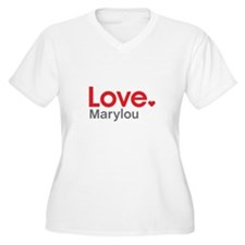 Love Marylou Plus Size T-Shirt