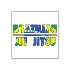 Buy BJJ Rectangle Sticker