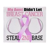 Aunt Didnt Let Breast Cancer Steal 2nd Base Stadi