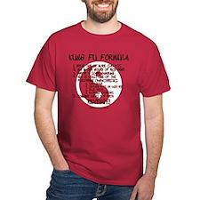 Kung Fu Formula Cardinal T-Shirt