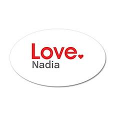 Love Nadia Wall Decal