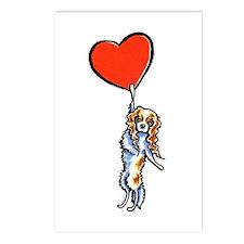 CKCS Blenheim Heart Postcards (Package of 8)