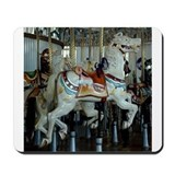 Unique Carousel horse Mousepad