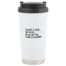 Chocolate Therapy Ceramic Travel Mug
