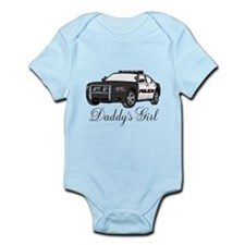 Daddy's Girl Police Car Infant Bodysuit
