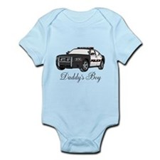 Daddy's Boy Police Cruiser Infant Bodysuit