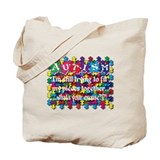 Fitting My Puzzle Pieces Together Tote Bag