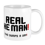 REAL HEMAN - TWO DUMPS A DAY! Small Mug
