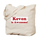 Keven is Awesome Tote Bag