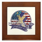 Proud Scottish American Framed Tile