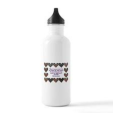 Autism Having A Heart Water Bottle