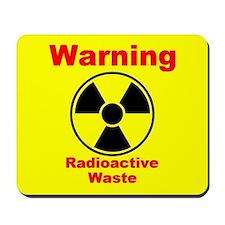 Radioactive Waste Mousepad