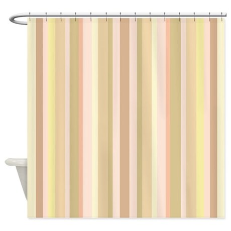 Turquoise Shower Curtain Liner Yellow Ticking Shower Curtain