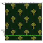 Irish Cross Shower Curtain