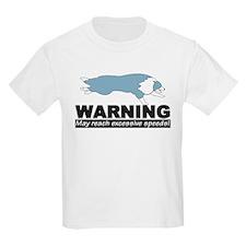 Blue BC Speed Logo Kids T-Shirt