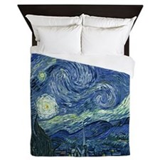 Starry Night by Van Gogh Queen Duvet