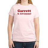 Garrett is Awesome Women's Pink T-Shirt