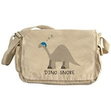 Dino Snore Messenger Bag