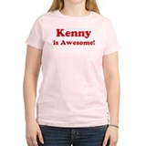 Kenny is Awesome Women's Pink T-Shirt