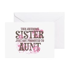 Promoted Aunt Greeting Cards (Pk of 20)