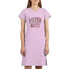 Promoted Aunt Women's Nightshirt
