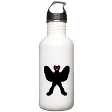 Cartoony Mothman Water Bottle