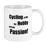 Cycling is NOT my Hobby-Small Mug
