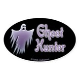 Spooky Ghost GH Oval Decal