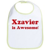 Xzavier is Awesome Bib