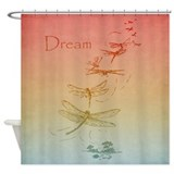 Dream Dragonflies Shower Curtain