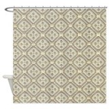 Fabric pattern design Shower Curtain