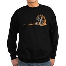 Reclining Tiger Sweatshirt
